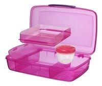 Sistema lunchbox Bento Box Duo rose-Détail de l'article