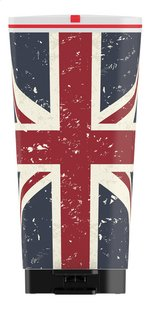 Kis Pedaalemmer Chic Bin Union Jack blauw/rood