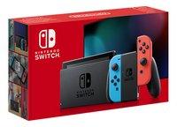Nintendo Switch console autonomie supplémentaire rouge/bleu-Côté gauche