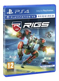 PS4 VR Rigs Mechanized Combat League ENG/FR-Vooraanzicht