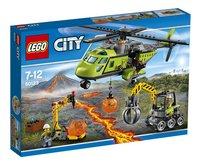 LEGO City 60123 L'hélicoptère d'approvisionnement du volcan