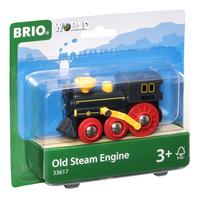 BRIO World 33617 Oude stoomlocomotief-Linkerzijde