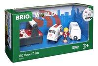 BRIO World 33510 Train de voyageur RC-Côté gauche