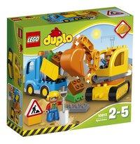 LEGO DUPLO 10812 Rupsband-Graafmachine-Vooraanzicht