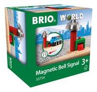BRIO World 33754 Signal Cloche Magnétique-Côté gauche
