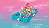 LEGO Disney Princess 43176 Les aventures d'Ariel dans un livre de contes-Image 4