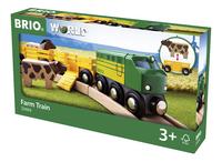 BRIO World 33404 Train des animaux de la ferme-Côté droit