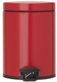 Brabantia pedaalemmer 5 l Passion Red