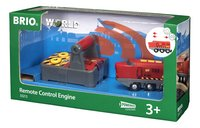 BRIO World 33213 Rode RC locomotief-Rechterzijde