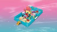 LEGO Disney Princess 43176 Les aventures d'Ariel dans un livre de contes-Image 5