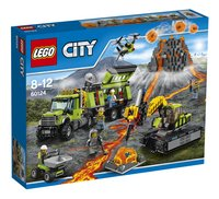 LEGO City 60124 La base d'exploration du volcan-Avant