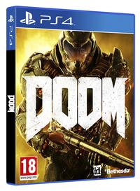 PS4 DOOM 4 ENG-Linkerzijde