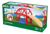 BRIO World 33699 Pont courbe-Côté droit