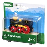 BRIO World 33617 Oude stoomlocomotief-Rechterzijde