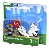 BRIO World 33861 Moto de police-Côté droit