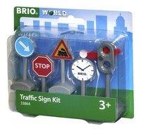 BRIO World 33864 Panneaux de signalisation-Côté droit