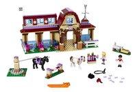 LEGO Friends 41126 Heartlake paardrijclub-Vooraanzicht