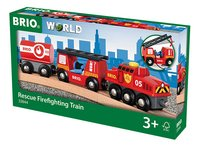 BRIO World 33844 Trein van de brandweer-Rechterzijde