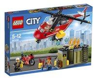 LEGO City 60108 L'unité de secours des pompiers-Avant