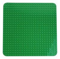 LEGO DUPLO 2304 Grande plaque de base verte-Avant