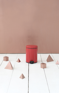 Brabantia pedaalemmer 5 l Passion Red-Afbeelding 1