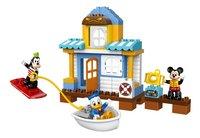 LEGO DUPLO 10827 Mickey & Friends strandhuis-Vooraanzicht