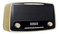 Lenco radio DAB+ Retro DAR-012 Wood Brown-Linkerzijde
