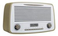 Lenco radio DAB+ Rétro DAR-012 Taupe-Côté gauche