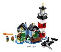 LEGO Creator 31051 Vuurtorenkaap-Vooraanzicht