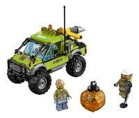 LEGO City 60121 Vulkaan onderzoekstruck-Vooraanzicht