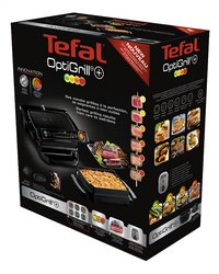 Tefal Multigrill OptiGrill+ Snacking & Backing GC714812-Rechterzijde