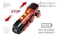 BRIO World 33592 Grote rode locomotief op batterijen-Artikeldetail