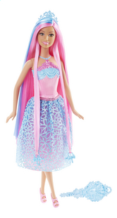 Barbie mannequinpop Endless Hair Kingdom blauw-Vooraanzicht