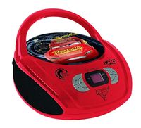 Lexibook draagbare radio/cd-speler Disney Cars 3