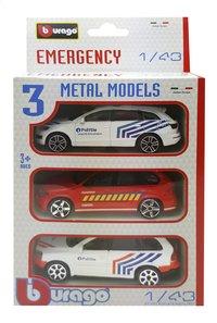 Voiture Emergency Belgique - 3 pièces-Avant