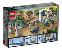 LEGO Jurassic World 75937 La fureur du Tricératops-Arrière