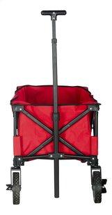 Campman Chariot pliant rouge-Avant
