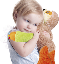 baby Clementoni peluche interactive Ma Peluche Parasseux-Image 1