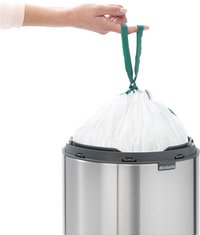 Brabantia Poubelle Touch Bin New matt steel fingerprint proof 30 l-Image 4