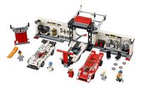 LEGO Speed Champions 75876 Le stand de la Porsche 919 Hybrid et 917K-Avant