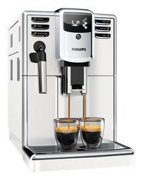 Philips Machine à espresso automatique avec mousseur à lait Series 5000 EP5311/10 blanc-Côté gauche
