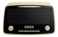 Lenco radio DAB+ Rétro DAR-012 Wood Brown-Avant