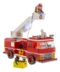Laser Pegs Fire Truck-Vooraanzicht