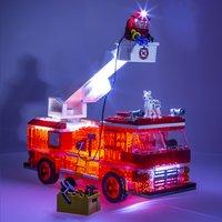 Laser Pegs Fire Truck-Afbeelding 1