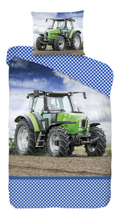 Good Morning Housse de couette Tractor strong coton Lg 140 x L 220 cm-Avant