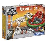 Clementoni Jurassic World - Fallen Kingdom Volcano set 2-in-1-Linkerzijde
