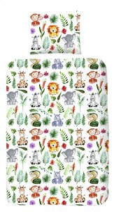 Good Morning Housse de couette Zoo coton Lg 140 x L 220 cm-Avant