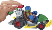 Set de jeu Les Tortues Ninja Half Shell Heroes Patrol Buggy with Racer Leo-Image 1