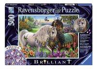 Ravensburger puzzle Starline Chevaux scintillants-Avant