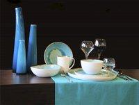 Cosy & Trendy 4 platte borden Laguna azzurro Ø 27 cm-Afbeelding 1